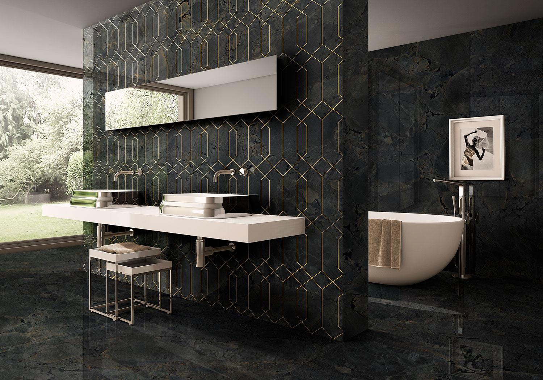 Baños en negro: diseños en clave 'dark' que tienen mucho de elegante