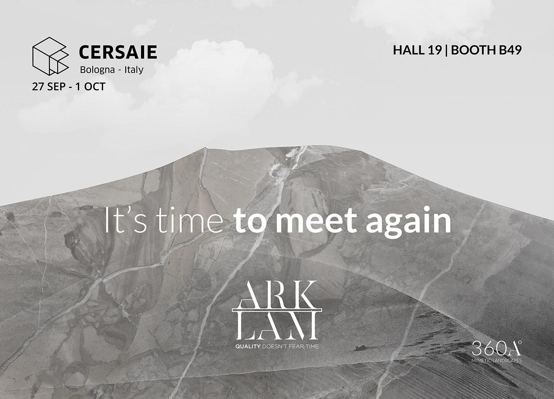 Arklam regresa a Cersaie con nuevas referencias en gran formato de estética hiperrealista
